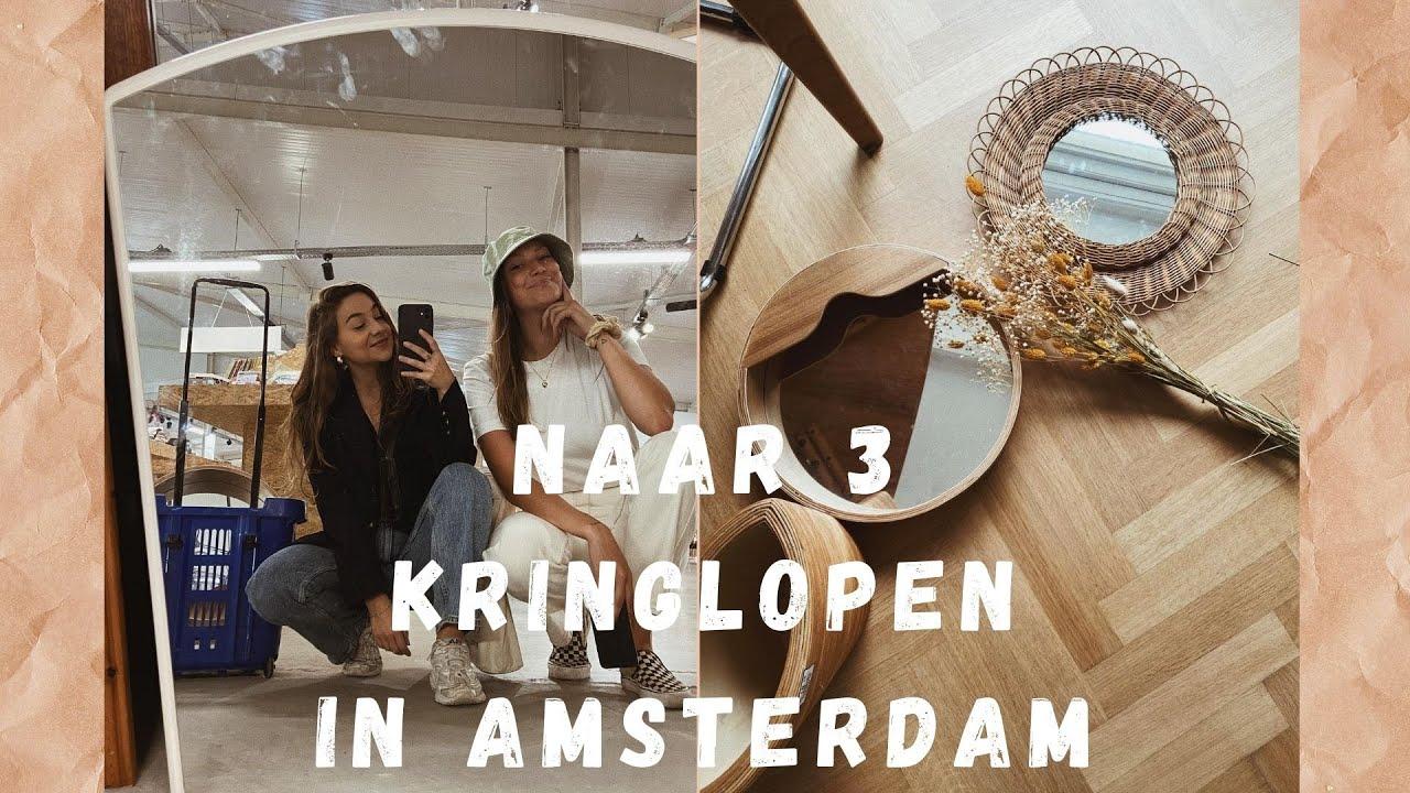 Naar 3 kringloopwinkels in Amsterdam! - VERHUISVLOG #4 🌼