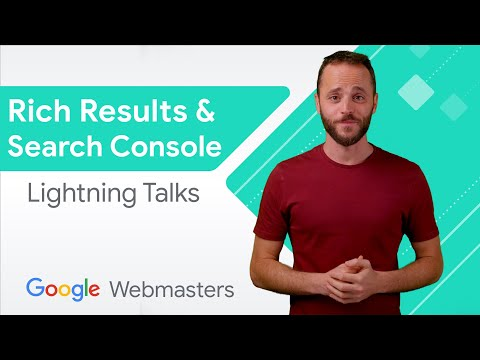 Rich Results & Google Search Console   WMConf Lightning Talks