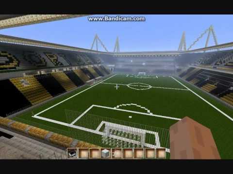 minecraft borussia dortmund stadion downloadlink youtube. Black Bedroom Furniture Sets. Home Design Ideas