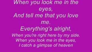 Gambar cover When you look me in the eyes (With Lyrics)