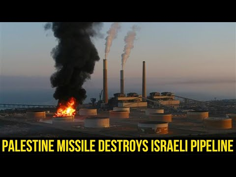 Israeli energy pipeline hit as Iron Dome fails to intercept missile.