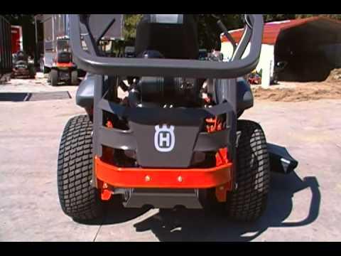 61 U0026 39  U0026 39  Husqvarna Zero Turn Lawn With 26 Hp Kawasaki Engine