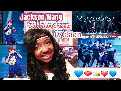 Jackson Wang - (V)ision Feat. Jabbawockeez Performance Reaction ❤ Jackson Wang Vision | VIVO