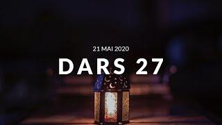 Jour 27 DARS RAMADAN - 21 Mai 2020