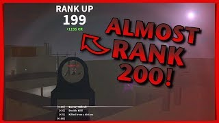 ALMOST RANK 200! What's Going On? - Roblox: Phantom Forces