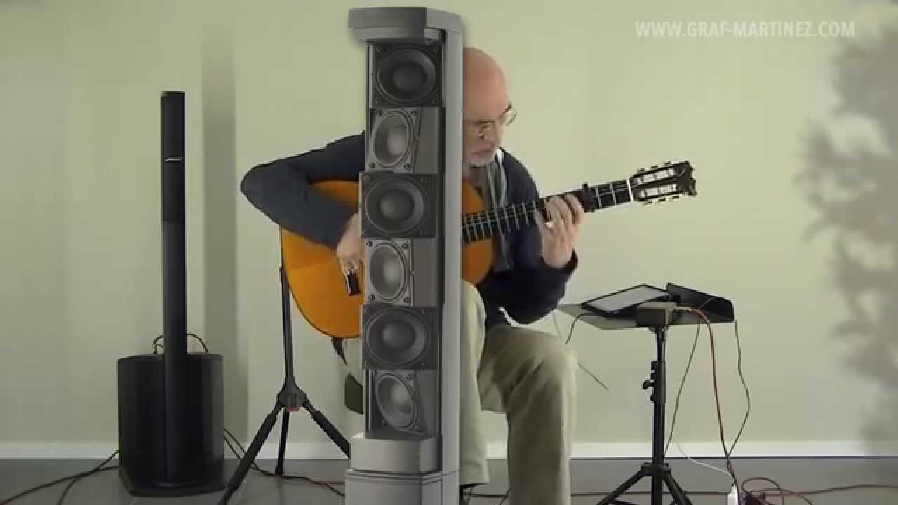 Bose L1 Compact System Flamenco Guitar Youtube