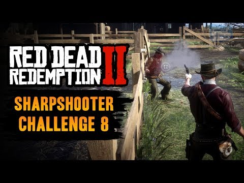 Red Dead Redemption 2 Sharpshooter Challenge #8 Guide - Disarm 3 enemies without reloading thumbnail