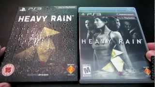 Heavy Rain Special Edition Unboxing Review