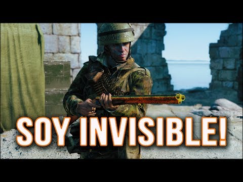 CÓMO SER INVISIBLE EN BATTLEFIELD V.... -  BATTLEFIELD 5 GAMEPLAY ESPAÑOL    DG88 thumbnail