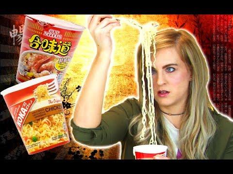 Irish People Taste Test Ramen Noodles