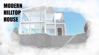 CHRISTMAS TINY TOWN EP4   MODERN HILL-HOUSE   ROBLOX Welcome To Bloxburg Speedbuild.