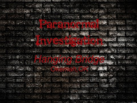 Paranormal Investigation Okemah, OK
