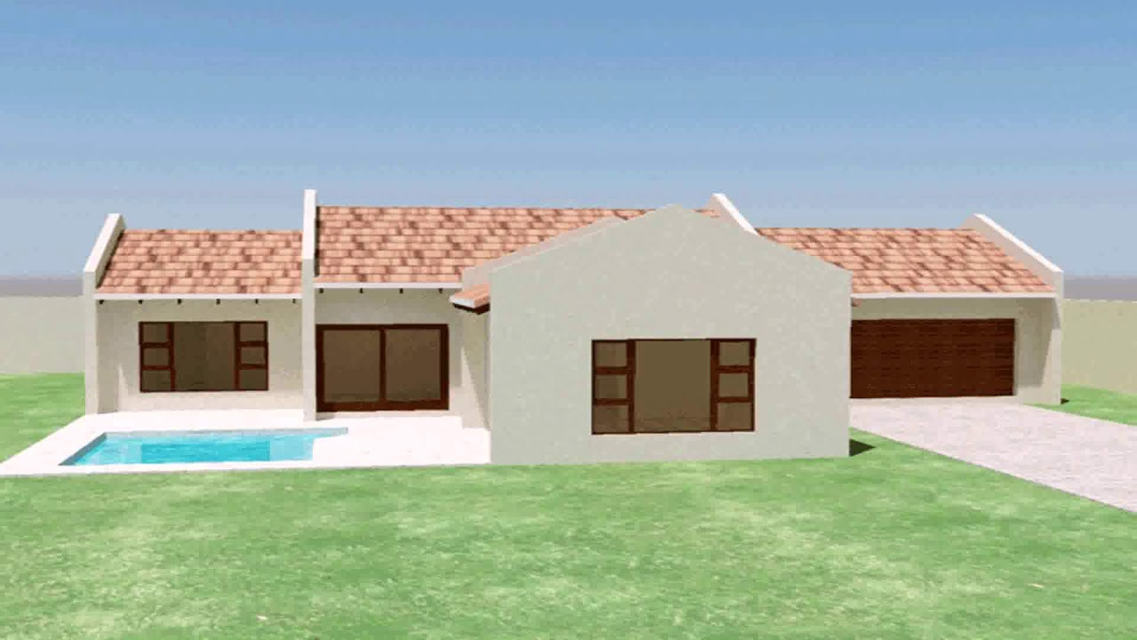 3 Bedroom House Plans With Double Garage South Africa