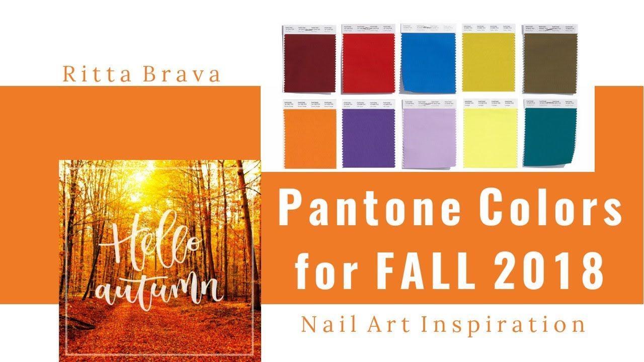 Pantone Colors For Fall 2018