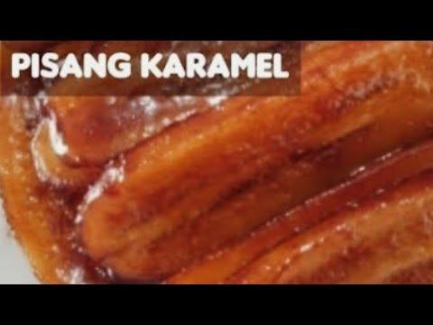 RESEP CARA MEMBUAT PISANG KARAMEL SENDIRI - YouTube