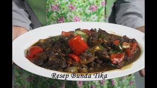 Rahasia Resep Tumis Daging Sapi Lada Hitam ALa Chef Restoran