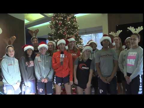 Merry Christmas from Pepperdine Women