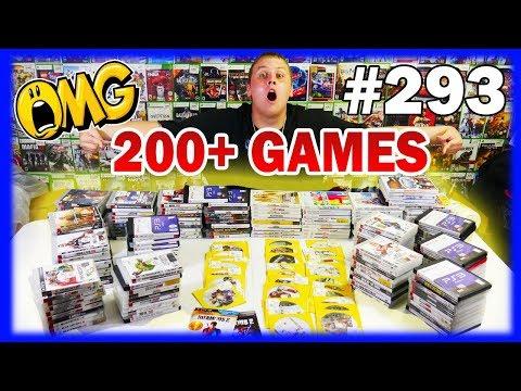 BEST Gamestop Dumpster Dive On YouTube! OVER 200 GAMES! Night 293