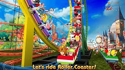 "Theme Park Rider Online ""Casual Games"" Android Gameplay Video"