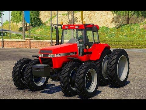 мультик про красный трактор.цветные трактора.песенка трактора.мультик про трактор.большая бибика