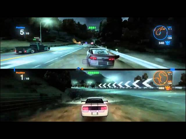 BLUR Gameplay PC HD | Blur Split Screen Multiplayer Maximum Settings