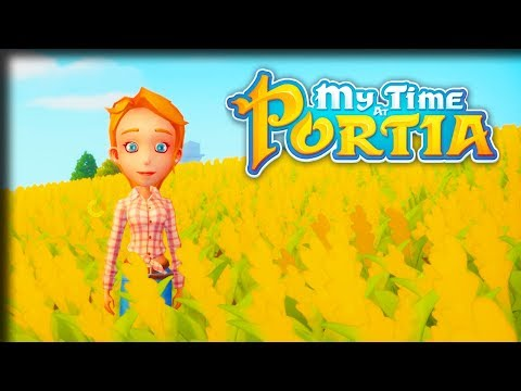 The Basket Case – My Time at Portia Gameplay – Let's Play Part 14