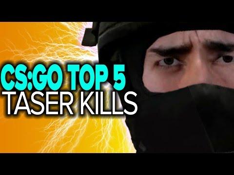 CS:GO Top 5 SHOCKING Zeus x27 Taser Kills by Pros
