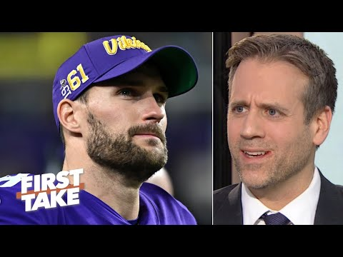 Kirk Cousins Always Chokes And The Vikings Aren't A Playoff Threat - Max Kellerman | First Take