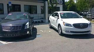 Cadillac Xts / Buick Lacrosse 2015 2016