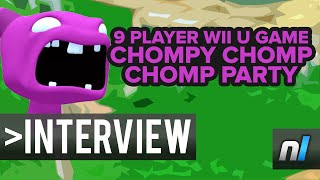 Crazy 9 Player Wii U Party Game - Chompy Chomp Chomp Party