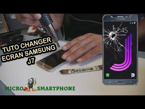 Tuto changer écran samsung J7 2016
