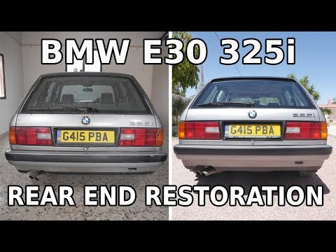 BMW E30 325i - Rear End Restoration - Opening A Can Of Worms thumbnail
