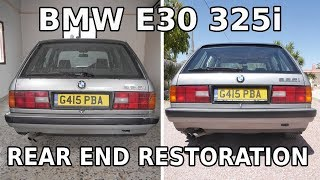 BMW E30 325i - Rusty Rear End Restoration - Opening A Can Of Worms
