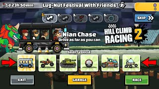 Hill Climb Racing 2 - 39973 points in LUG-NUT FESTIVAL WITH FRIENDS Team Event