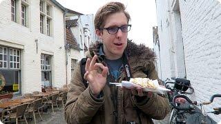 Puns in Bruges, Belgium! | Evan Edinger Travel