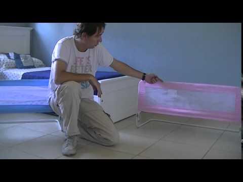 Modo de uso y presentaci n de barandas para cama infantil - Escalera cama infantil ...