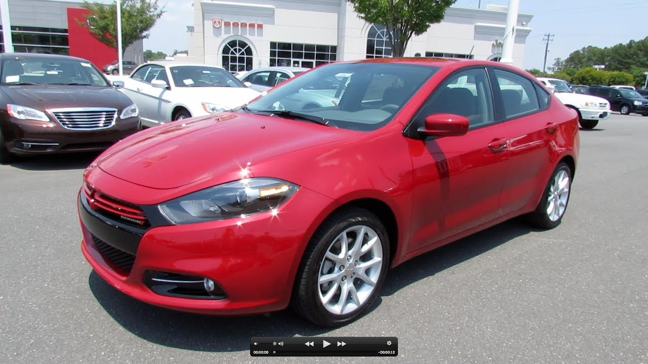 Dodge Dart Sxt >> 2013 Dodge Dart Rallye Turbo 6-spd Start Up, Exhaust, and ...