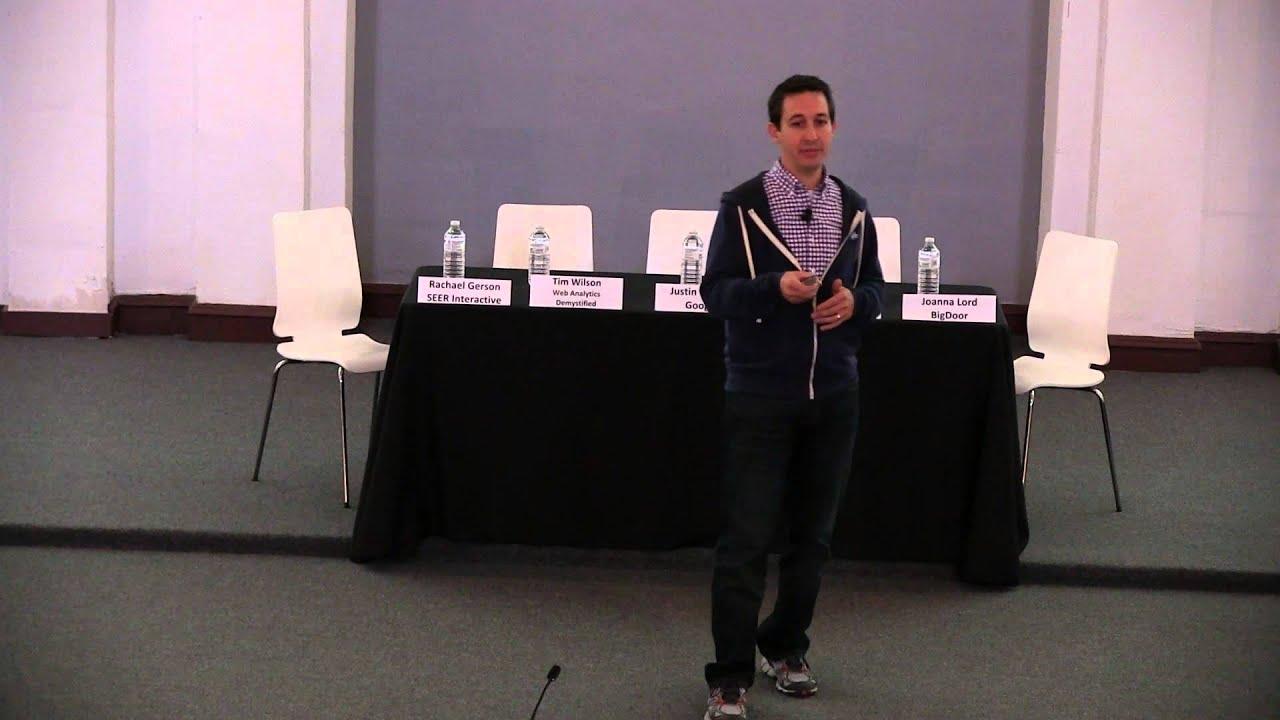 "Justin Cutroni Presents: ""Rethinking Digital Analytics"""