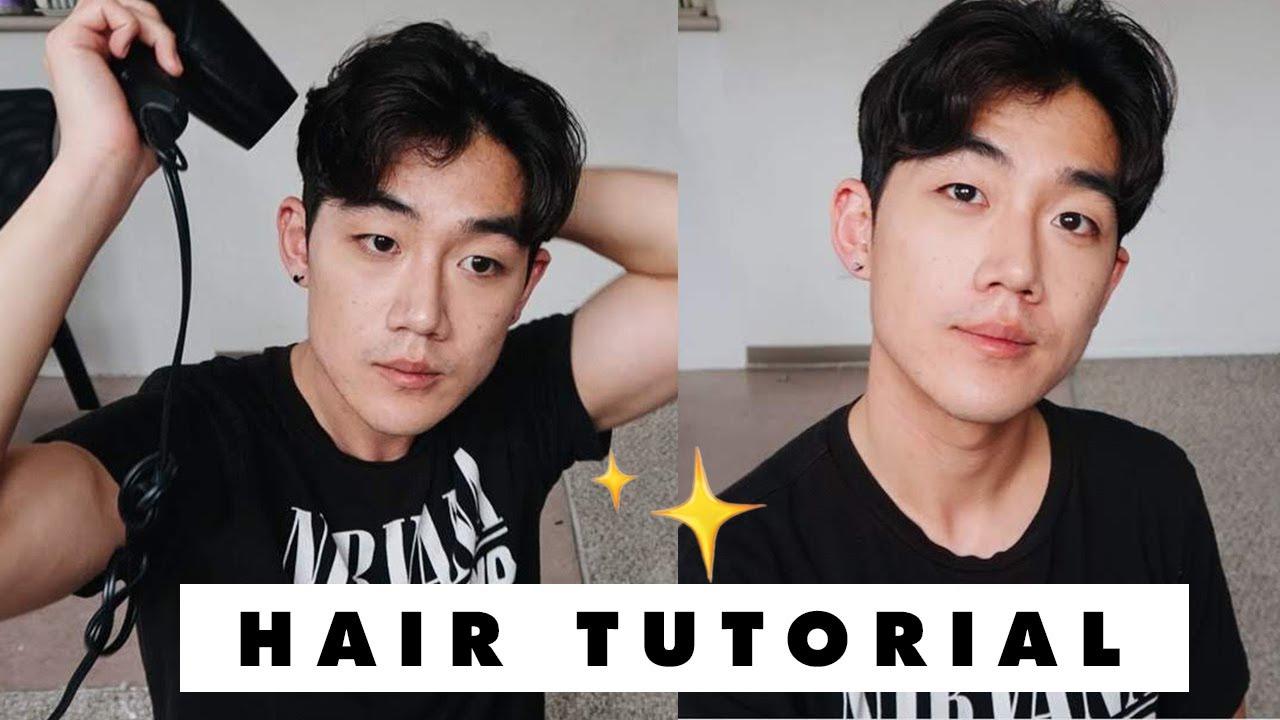 Korean Hair Style For Men Tutorial Brute Choi Youtube