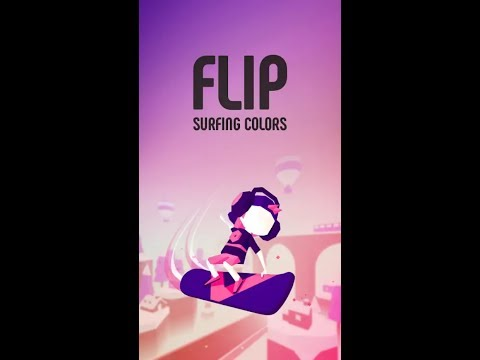 Flip: Surfing Colours Gameplay