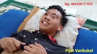 Video dan Gambar Contoh Hernia Bukan Varikokel Sembuh dengan Pijat Reposisi Saraf 10.