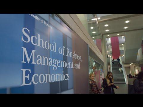 Undergraduate Economics courses at the University of Sussex