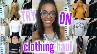 HUGE WINTER/SPRING TRY-ON HAUL 2016 | Shein & Romwe • Lawenwoss
