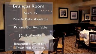 Steiner Ranch Steakhouse - Brings Room - Austin Wedding Day Style