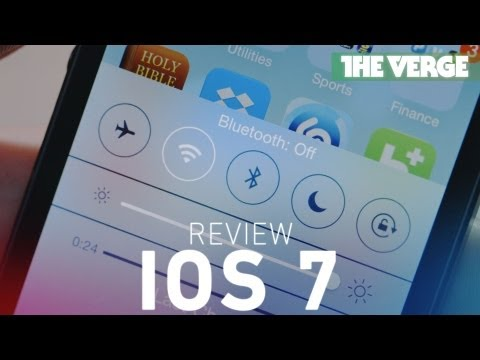iOS 7 review: Apple's new direction