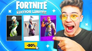 THE FORTNITE BOUTIQUES for SAISON 10! (Reduction, Rare Skin)