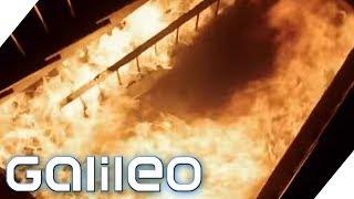 Das Haus brennt: Wie überlebst du das? | Galileo | ProSieben