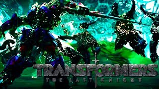 redemption transformers 5 the last knight official trailer optimus prime knight mash up fan made