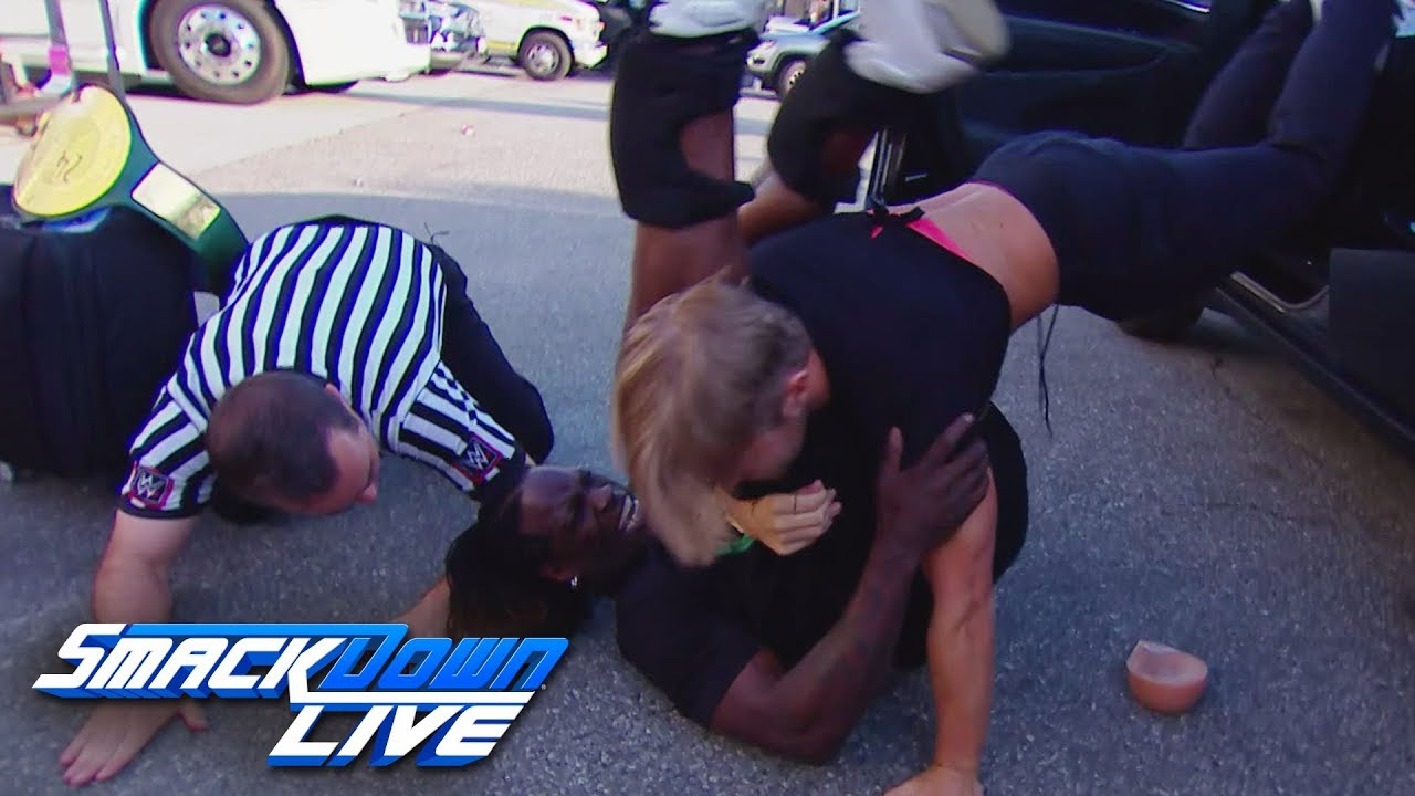 Drake Maverick wins the 24/7 Title from R-Truth: SmackDown LIVE, June 18,  2019