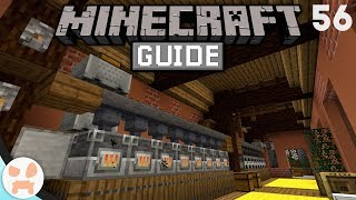How To Build AUTO SMELTERS! | The Minecraft Guide - Minecraft 1.14.4 Lets Play Episode 56